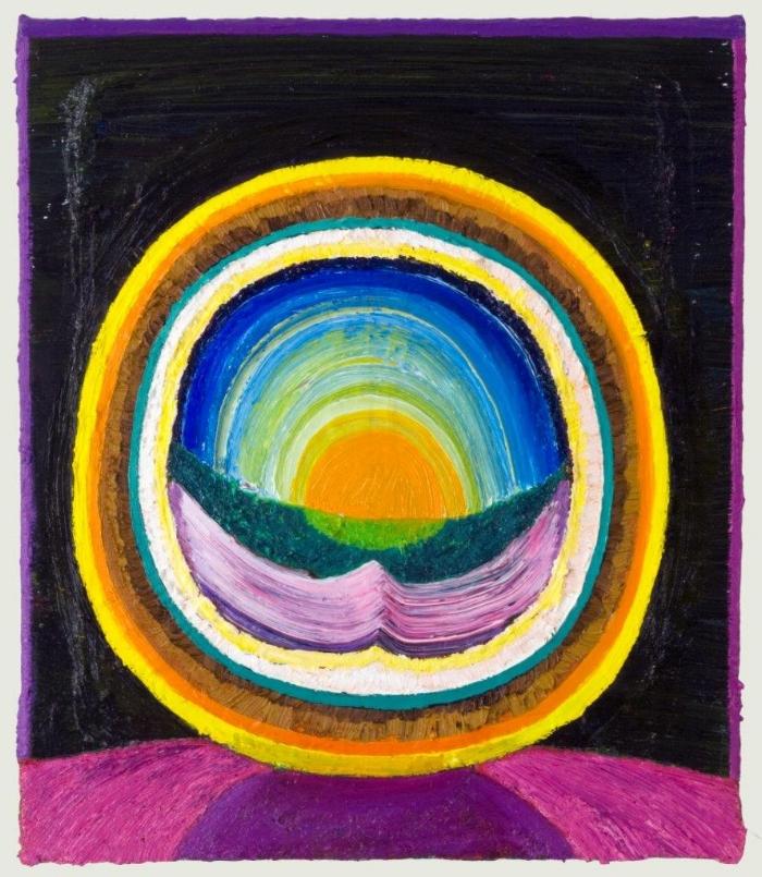 Jukkala, Clint, Sun globe, 2014, oil on canvas, 14 x 12 inches.jpg