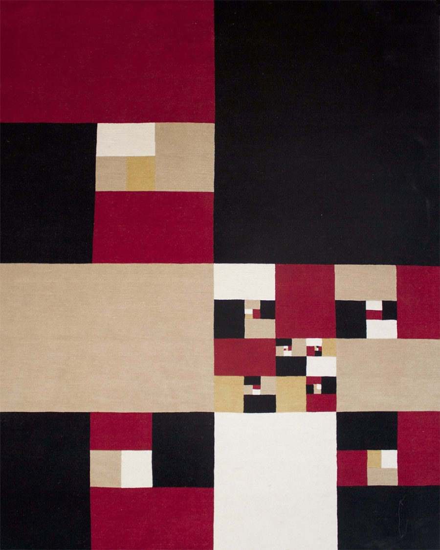 Siena, James, Nina Constant Windows, edition of 18, hand knotted Tibetan wool, 91 x 72 inches.jpg