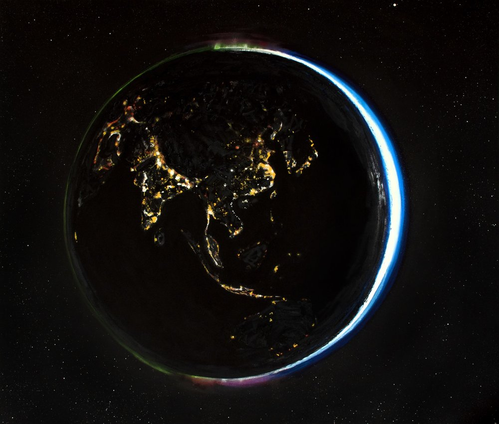 Earth (Night View)
