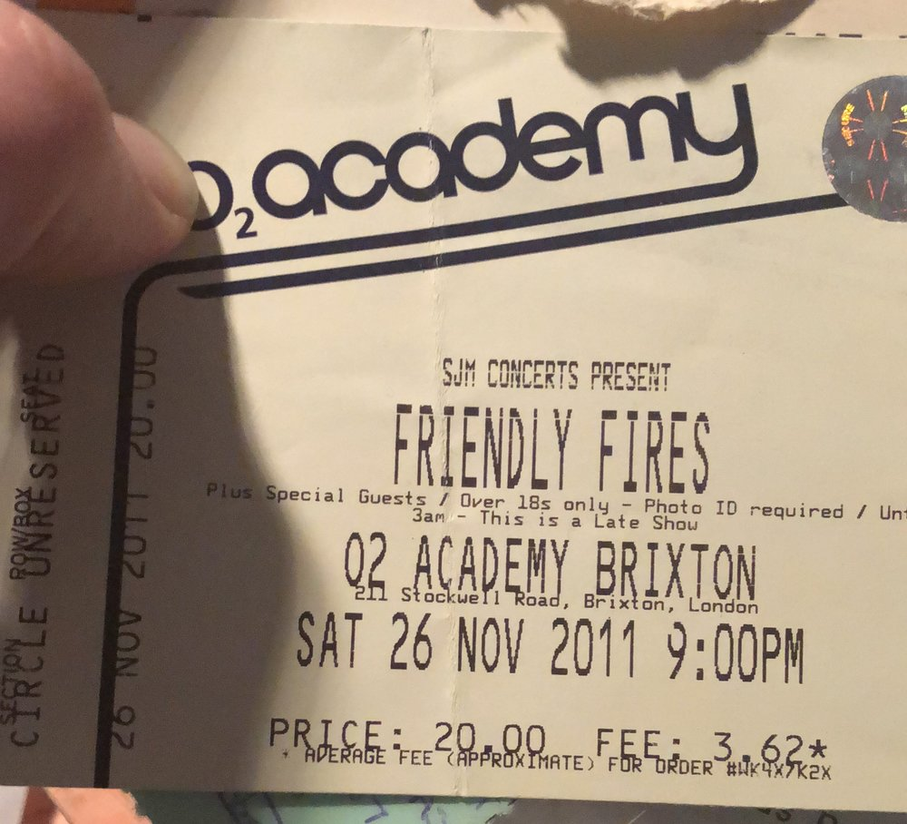 Friendly Fires Brixton.JPG