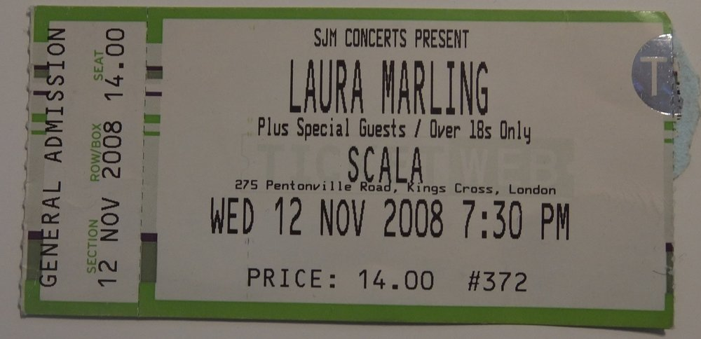 Laura Marling Scala