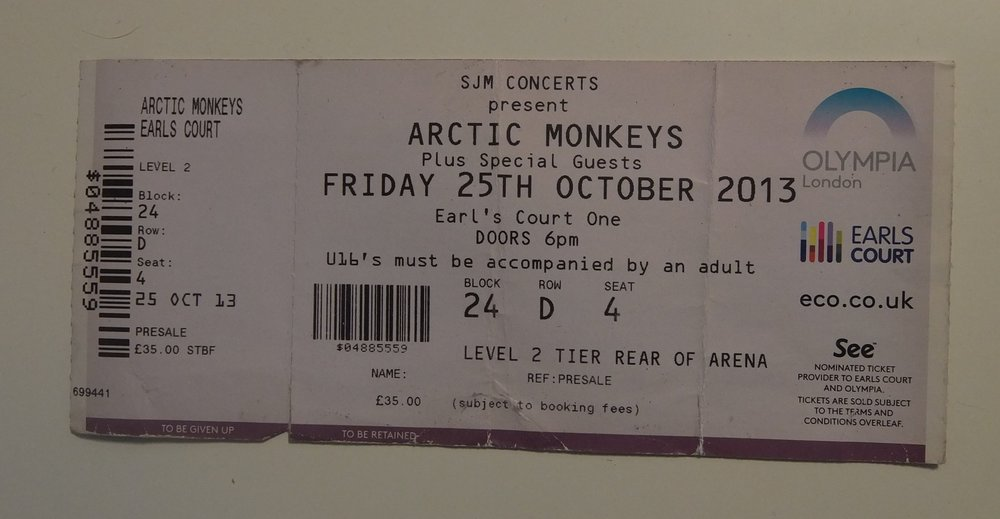 Arctic Monkeys Earls Court