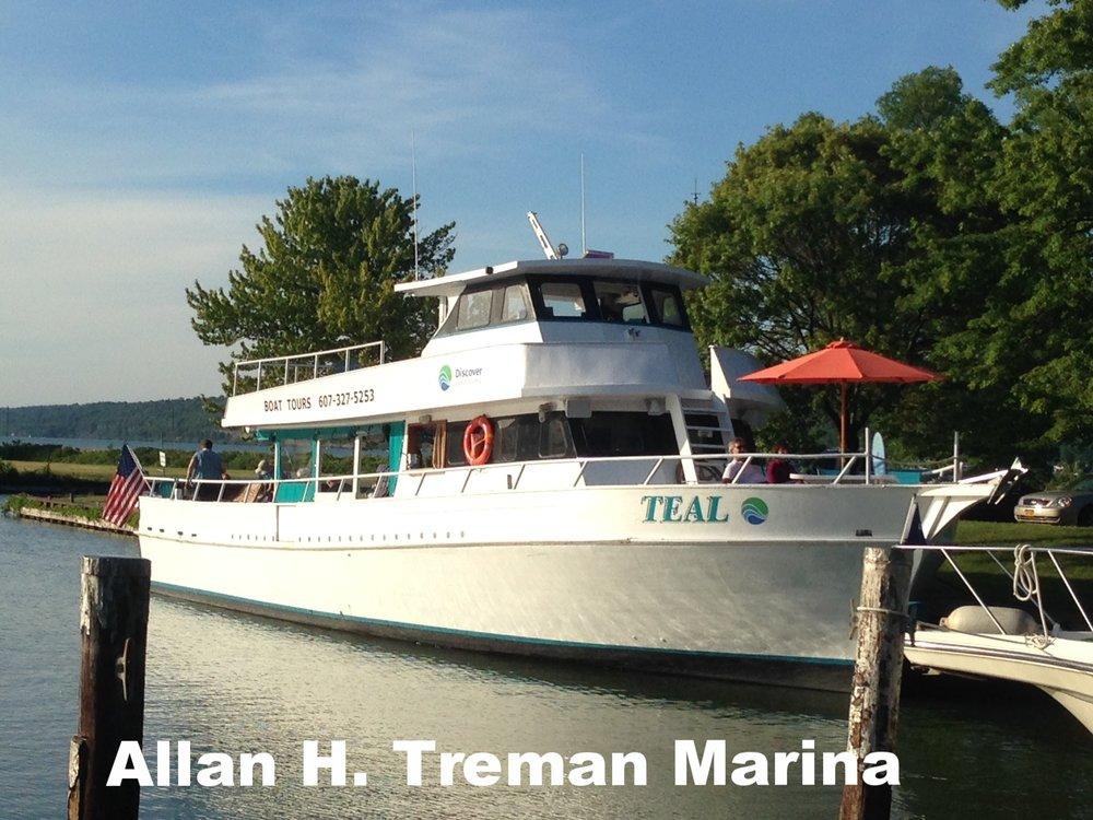 Allan H. Treman Marina, Ithaca, NY