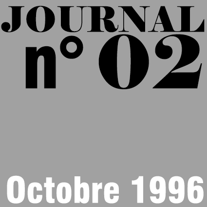 JOURNAL N°02 - OCTOBRE 1996