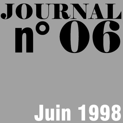 JOURNAL N°06 - JUIN 1998