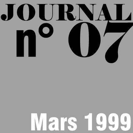 JOURNAL N°07 - MARS 1999