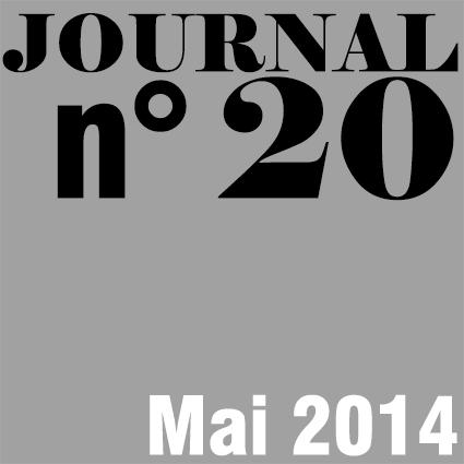 JOURNAL N°20 - MAI 2014