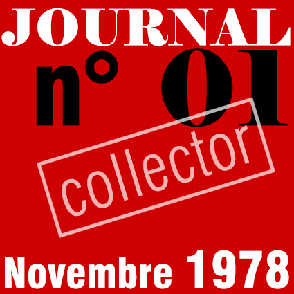 PREMIER SYNDICAT / JOURNAL N°01 - NOVEMBRE 1978