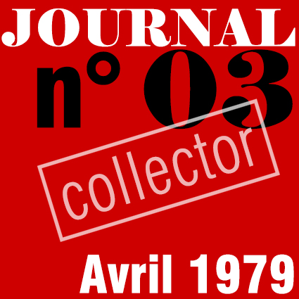 PREMIER SYNDICAT / JOURNAL N°03 - AVRIL 1979