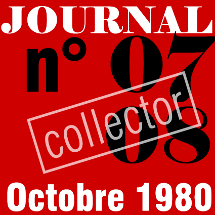PREMIER SYNDICAT / JOURNAL N°07+08 - NOVEMBRE 1980