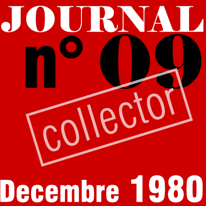 PREMIER SYNDICAT / JOURNAL N°09 - DECEMBRE 1980