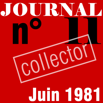 PREMIER SYNDICAT / JOURNAL N°11 - JUIN 1981