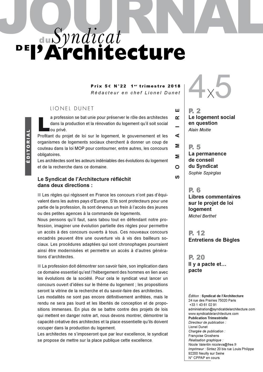 JOURNAL N°22