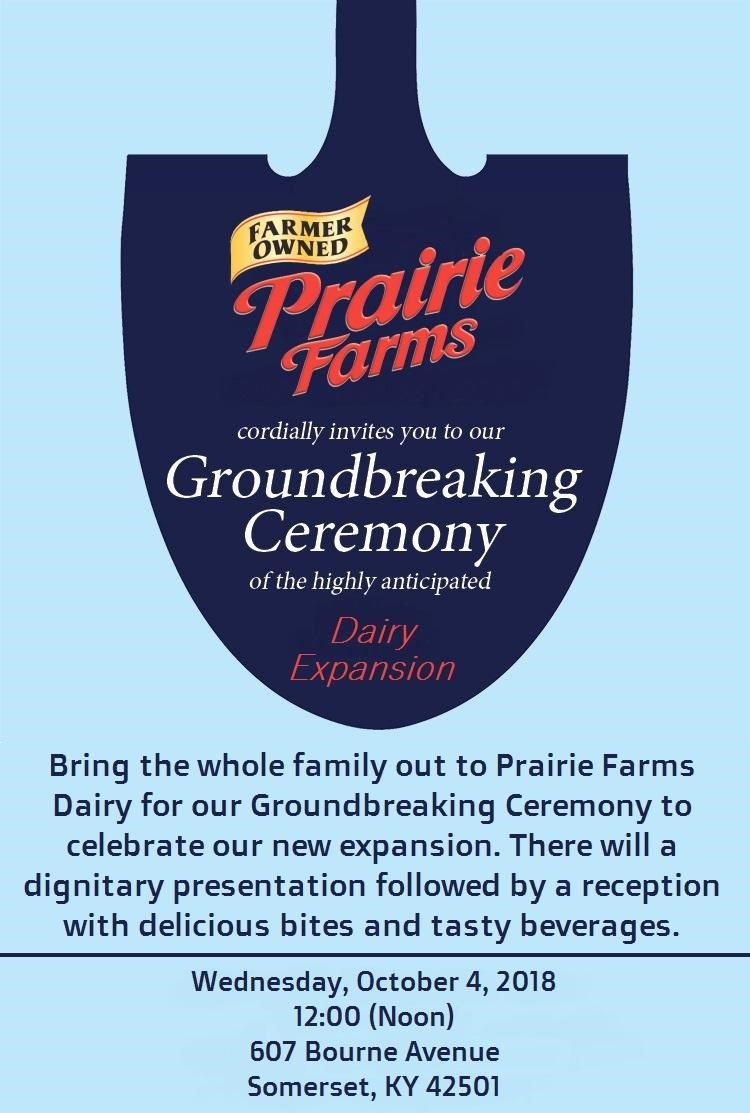 Prairie Farms Groundbreaking There Is A Future In Appalachia