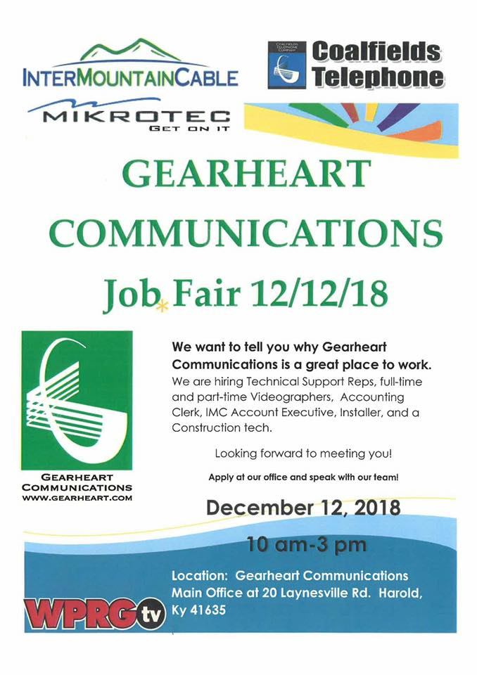Gearheart Communications Hosts Job Fair There Is A Future In