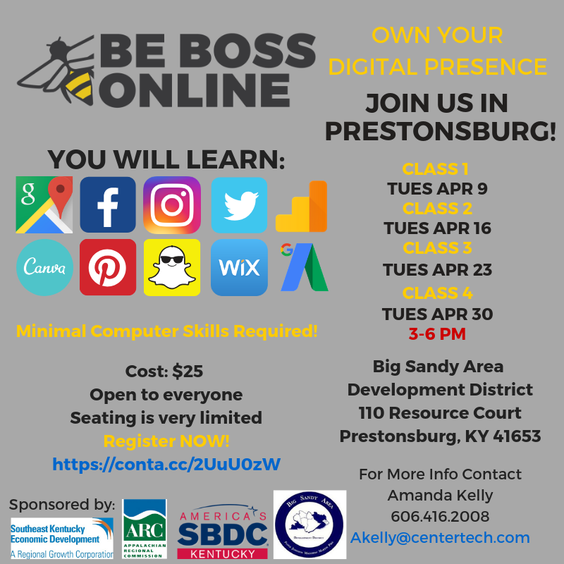 Prestonsburg Social Media Post Be Boss Online.png