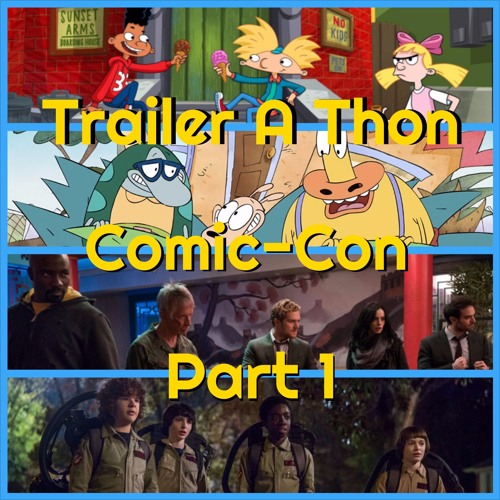 Trailer-a-thon: Comic-con - The Small screen - Welcome back to Trailer-A-Thon.This time around, we have a special two-parter lined up thanks to a metric f***ton (as Patrick says) of trailers from San Diego Comic-Con to cover.We've got five shows to run through including the beloved Nicktoons shows