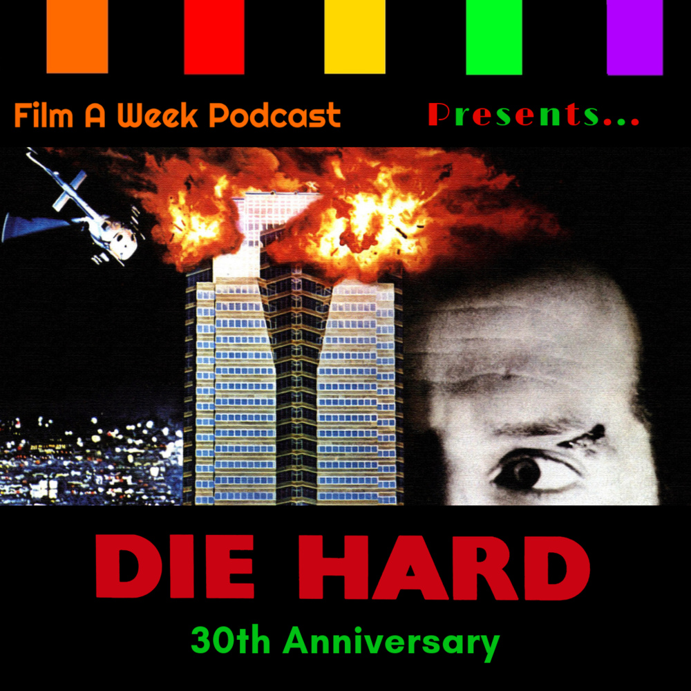"Presents…""Die hard"" 30th anniversary - Yippie-ki-yay, motherf***er! We said before we would not do it, but for a Christmas gift from us to you, Serg, Patrick and Matthew celebrate the 30th anniversary of the (Arguably) greatest Christmas movie ever, ""Die Hard."" Listen as we ring in the holiday with Nakatomi Plaza blowing up, glass shooting, Alan Rickman's marvelous voice and what makes this movie a Christmas classic. (Christmas Day)"