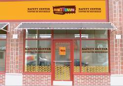 Concept for the Safety Center's facade by Midtown Community Works