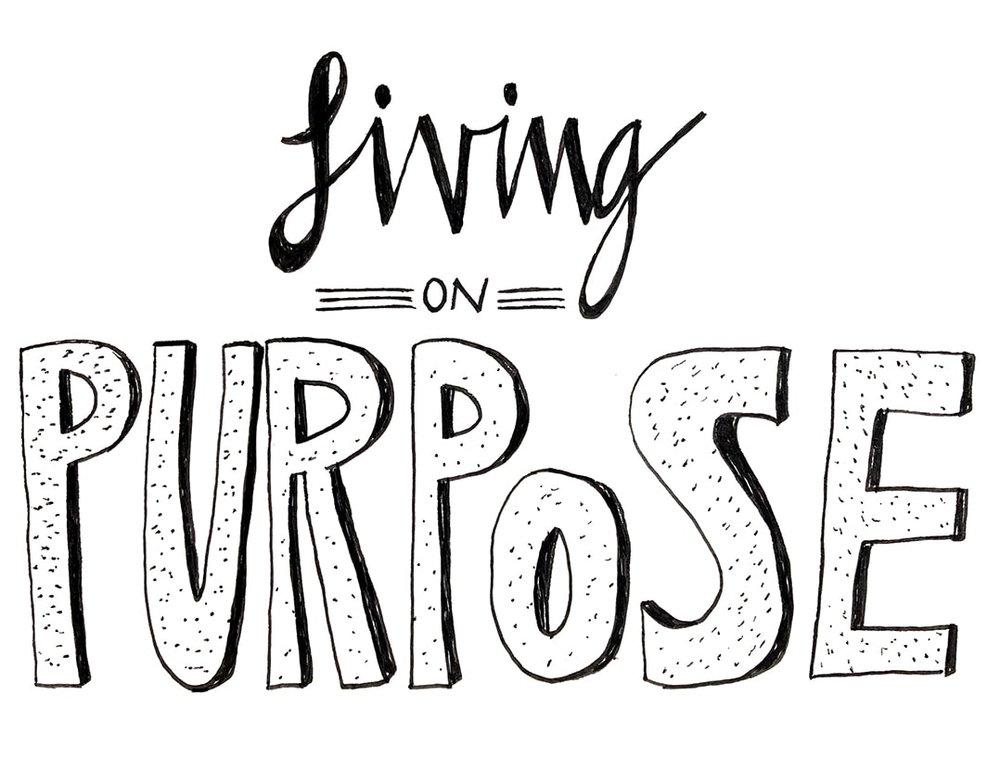 Year of Gratitude: Living on Purpose -