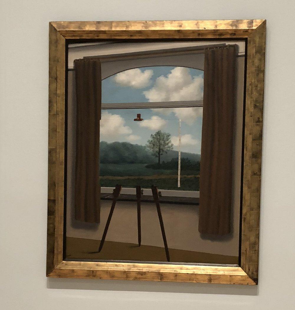La condition humaine- René Magritte