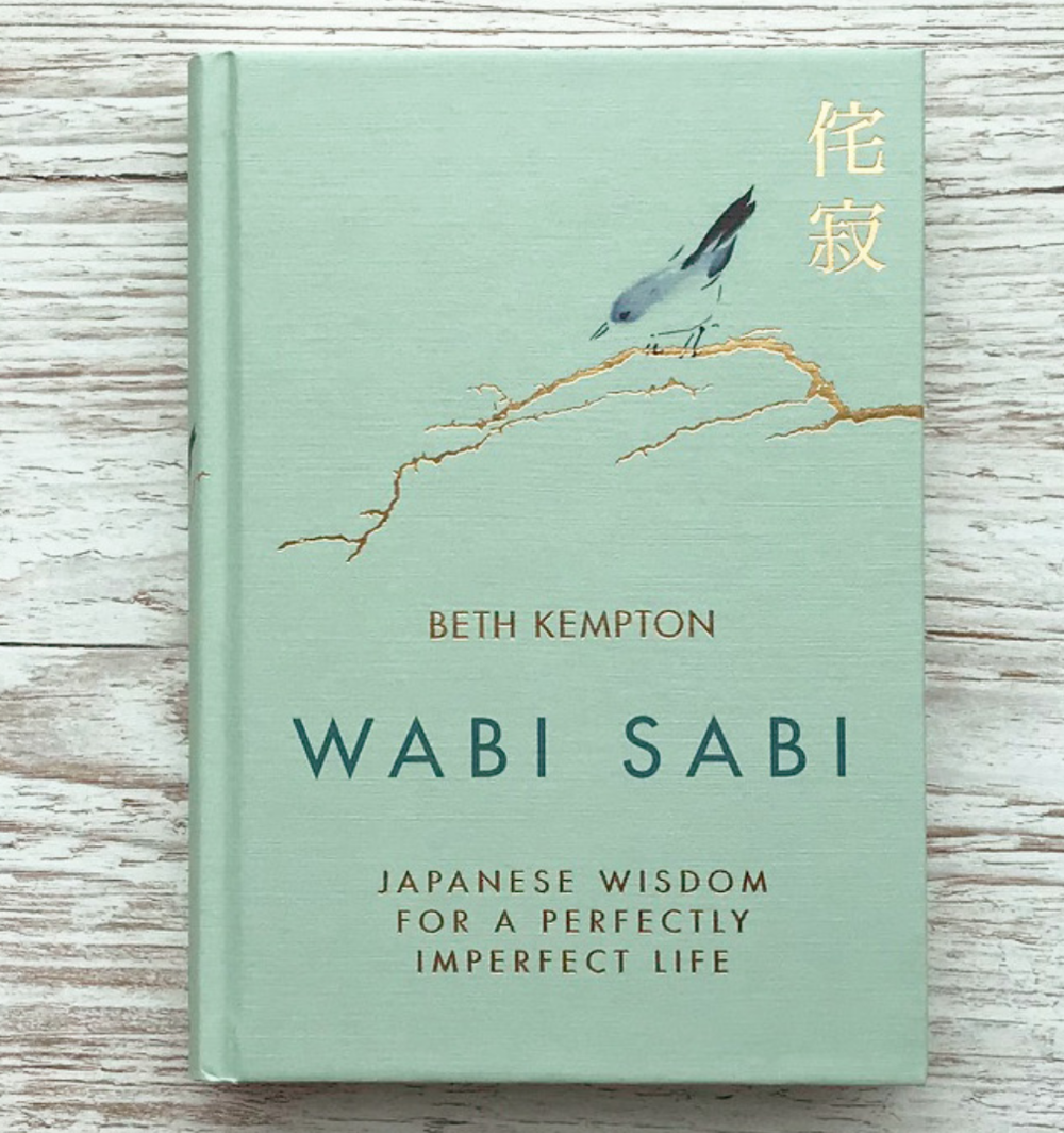 - PS: If you want to know more about the philosophy of wabi sabi and how you can incorporate it into your life, I recommend the book by Beth Kempton titled Wabi Sabi- Japanese Wisdom for a Perfectly Imperfect Life.