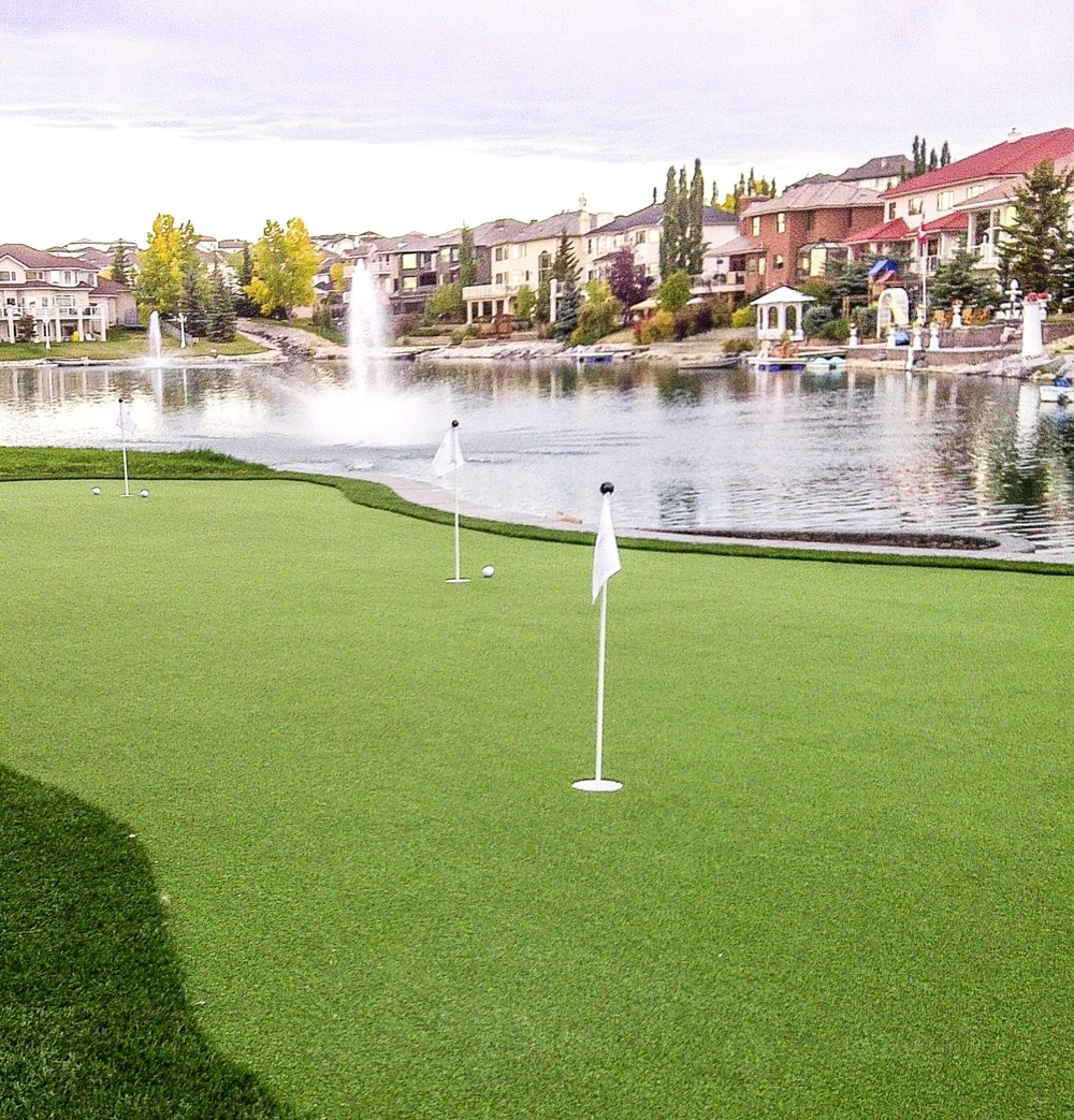Celebrity Greens Putting Lawn