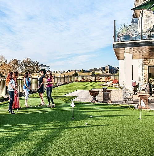 Celebrity Greens Putting Green