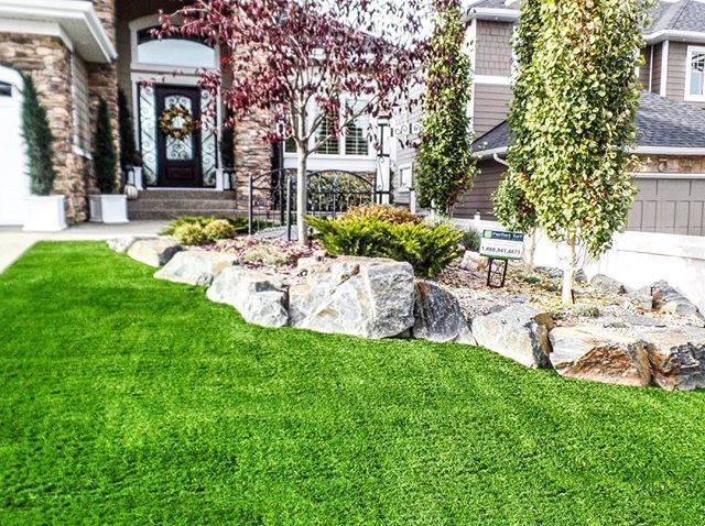 Isn't this a beautiful lawn? Beat Mother Nature with a Perfect Turf lawn, and become the envy of your neighbourhood. The best part about it: No mowing. No water. No maintenance 🙌🏼. . . Follow the link in our bio to request a quote today. . . . . . . . . . #artificialgrass #yvr #perfectturf #artificiallawn #artificialgrass #perfectlawn #syntheticgrass #greengrassvancouver #beautifullawnvancouver #petturfvancouver #artificialgrassvancouver #artificialturfvancouver #greengrass #beutifullawns #greatlawnyvr #lawnenvy