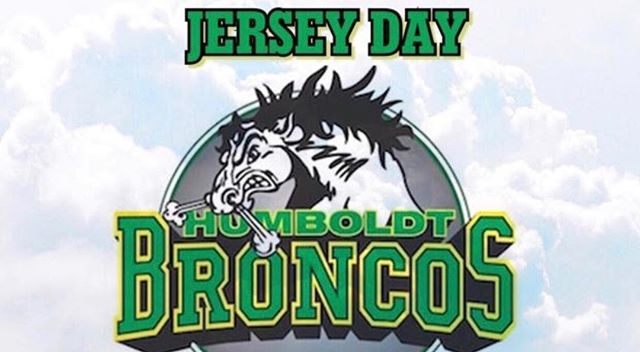 The recent tragedy suffered by the Humboldt Broncos has hit us hard. As past hockey players who've travelled countless prairie roads and said goodbye to our parents, only to return home safely, we're heartbroken that the team had such a different and tragic experience. Tomorrow is Jersey Day for the Humboldt Broncos; we'll be wearing our jerseys in support of the players, families and communities who are struggling through this. #jerseysforhumboldt #canadastrong #humboldtbroncos