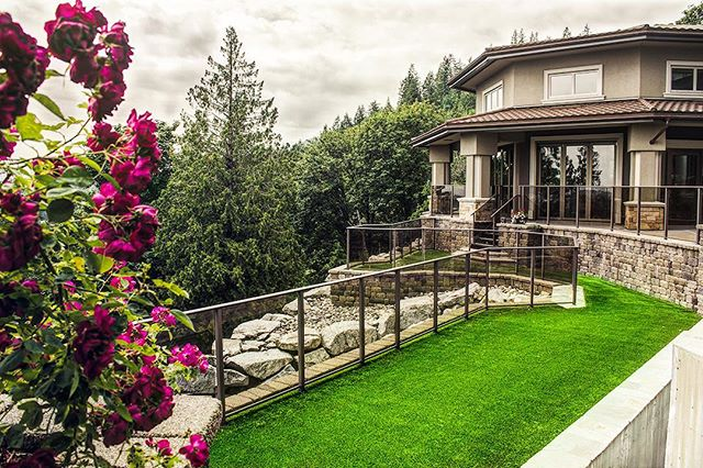We're loving the views from up here. Even a cloudy day can't take away from the brightness of that green grass 🌱🌱🌱. . . Ready to transform your outdoor space? Follow the link to request a quote. . . . . . . . . . #artificialgrass #yvr #perfectturf #artificiallawn #artificialgrass #perfectlawn #syntheticgrass #greengrassvancouver #beautifullawnvancouver #petturfvancouver #artificialgrassvancouver #artificialturfvancouver #greengrass #beutifullawns #greatlawnyvr #lawnenvy