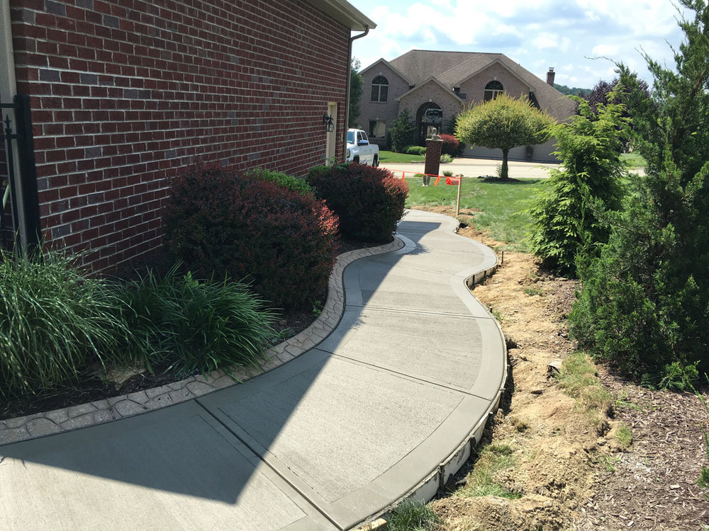 Concrete paver patio, driveway and walkway installation in Jeannette, PA