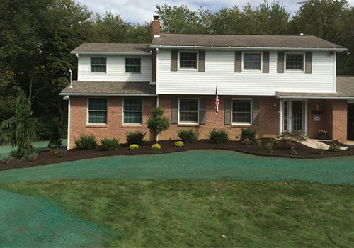 Landscape and New Lawn Installation in Westmoreland County, PA