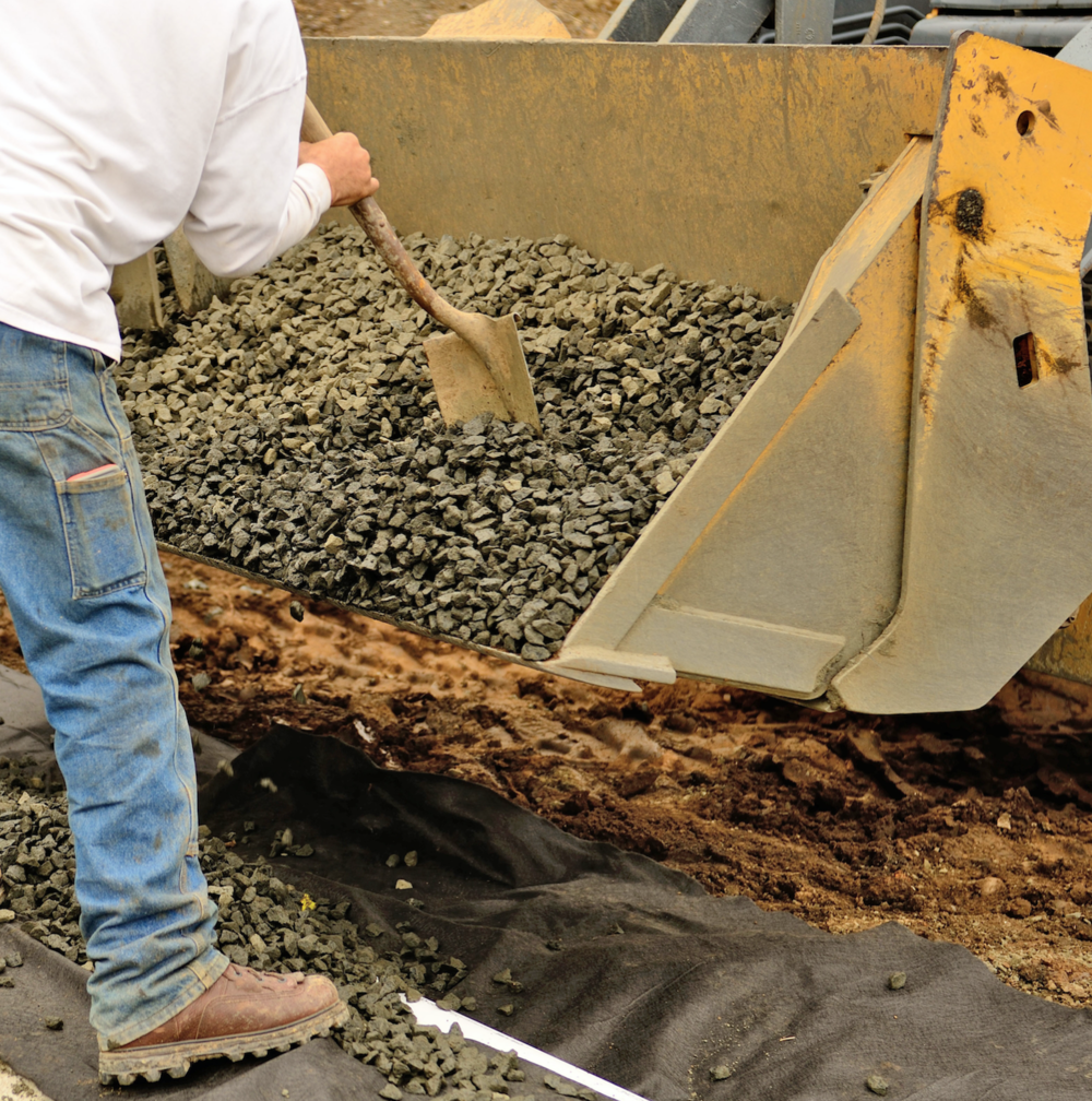 Property maintenance including french drains in Wexford, Allegheny County, PA