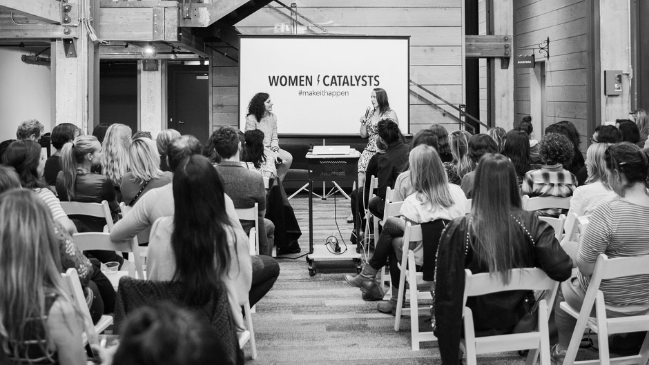 We dreamed up Women Catalysts to inspire more women to action. -