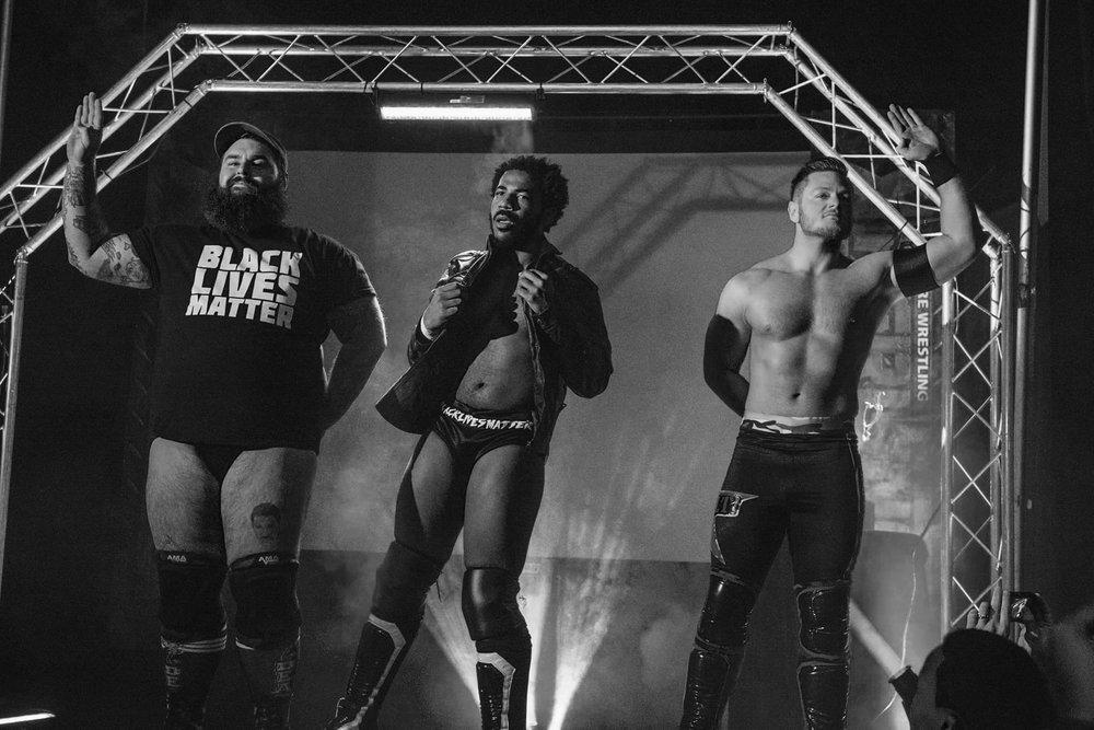 6 Man Tag Team Match, Revolt! vs Jake Manning & The Bravado Brothers (11/20/2016)