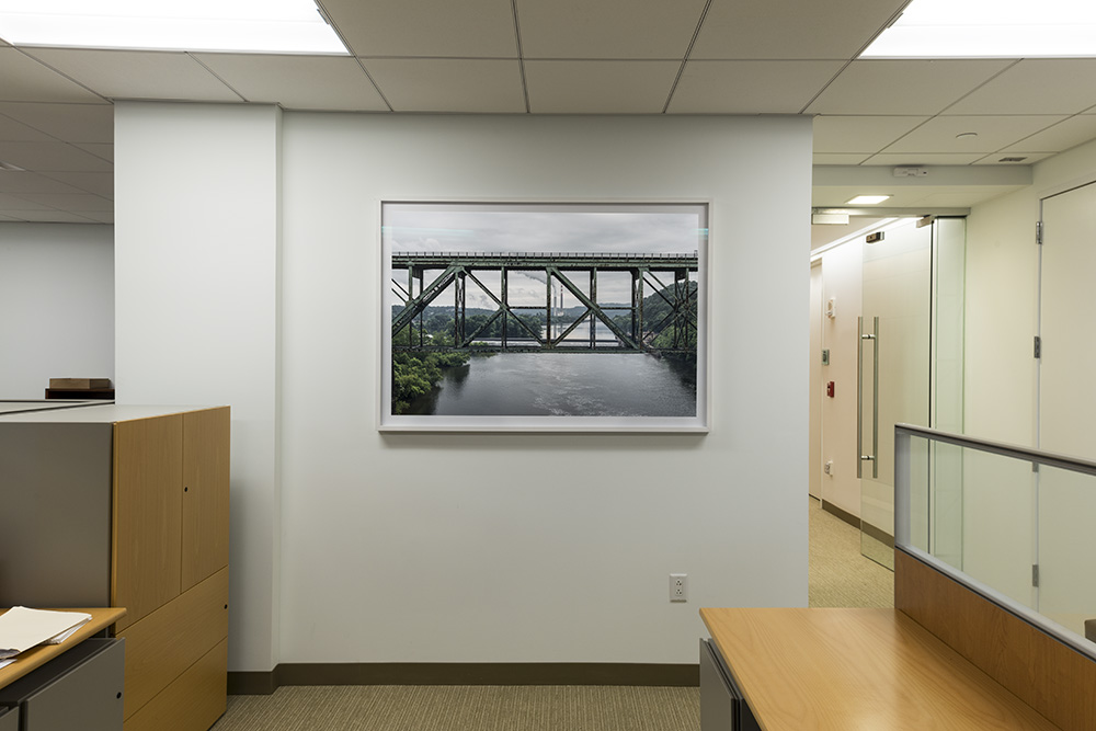 Smokebridge  , 42x60"