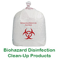B iohazard Disinfection Clean-Up & Accessorie s