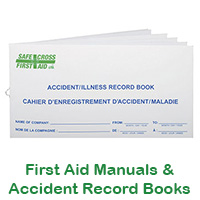 First Aid Manuals & Accident Record Books