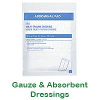 Gauze & Absorbent Dressings