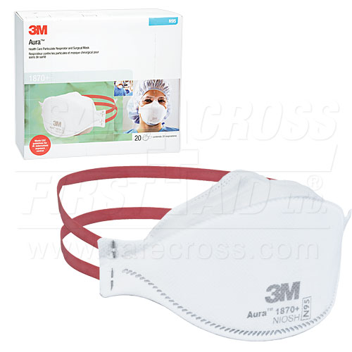 - N95 20 — 3m Armour Respirator Albertas Surgical First amp; Supplier 1870's 18265 Mask Aid box