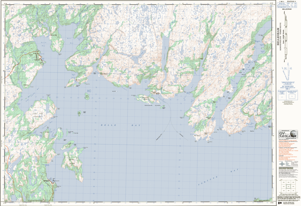 ArcGIS, Newfoundland Cartography, Mapping, Aerial Surveying