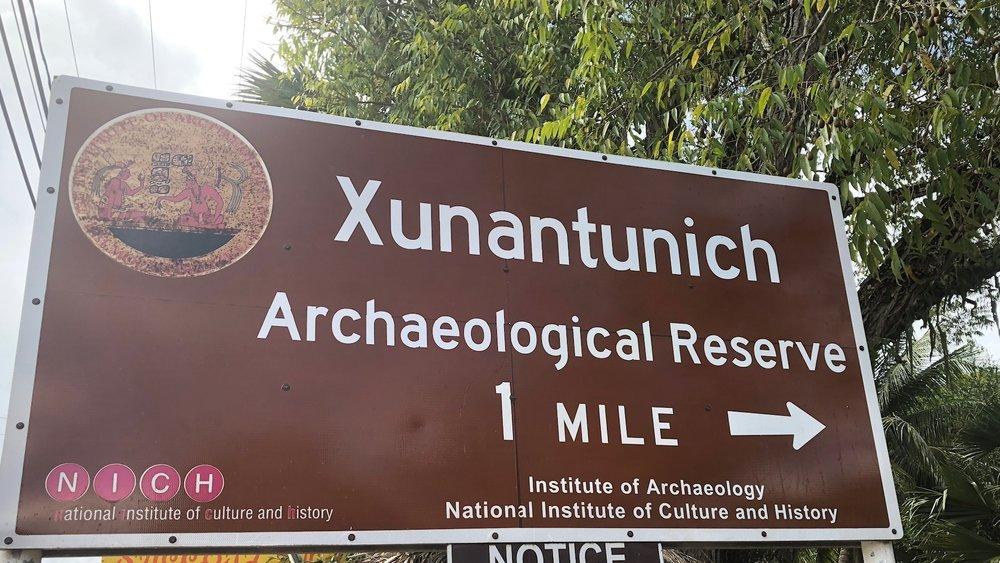 Xunantunich Sign.JPG
