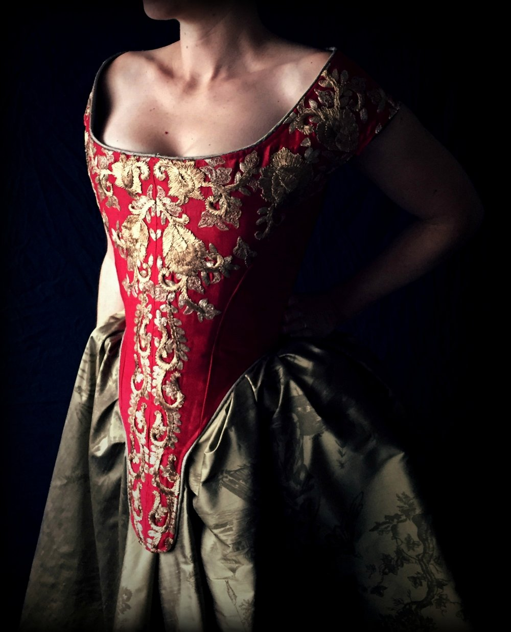 Bespoke $1500-$3500+A completely custom shaped and styled corset or ensemble in the fabrics of your choice -