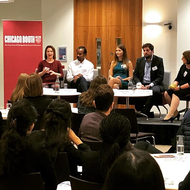 #tbt to yesterday, where the BAB London team was delighted to be at @chicagobooth for our Stir event - Better Together: Building an Inclusive Culture - sponsored by Broadridge. Thank you to our panelists who discussed mentoring schemes and the importance of adding value.  #throwback #networking #community #diversity #inclusion #gender #women #love #hiring #girls #entrpeneur #entrepeneurship #events #event #nyc #newyork #newyorkcity #nycevents #exclusive #corporate #london #career #reception #leadership #season #businesscard #communication #opportunities #inspiration