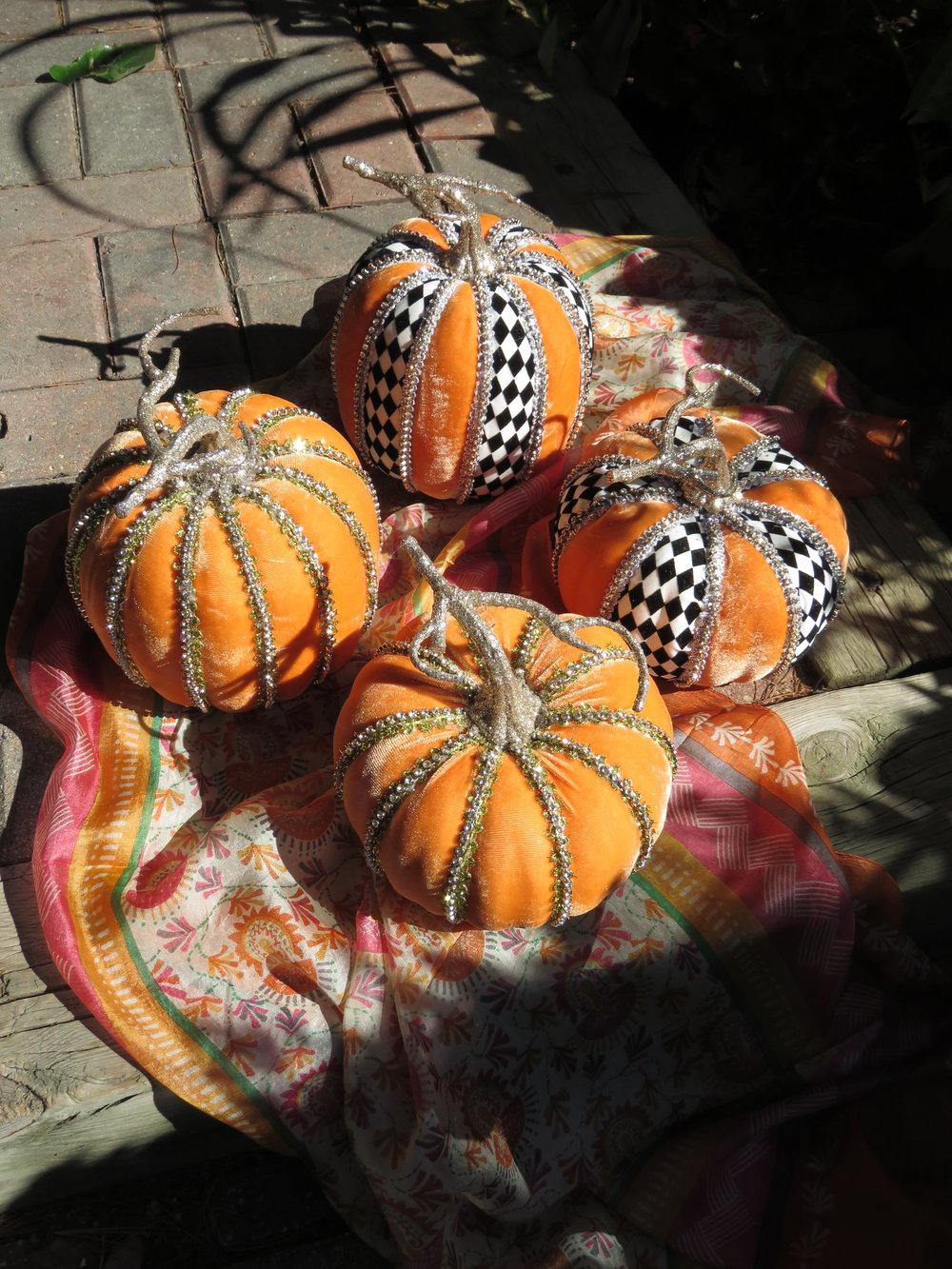 Mark Roberts Pumpkins - $24.95 each