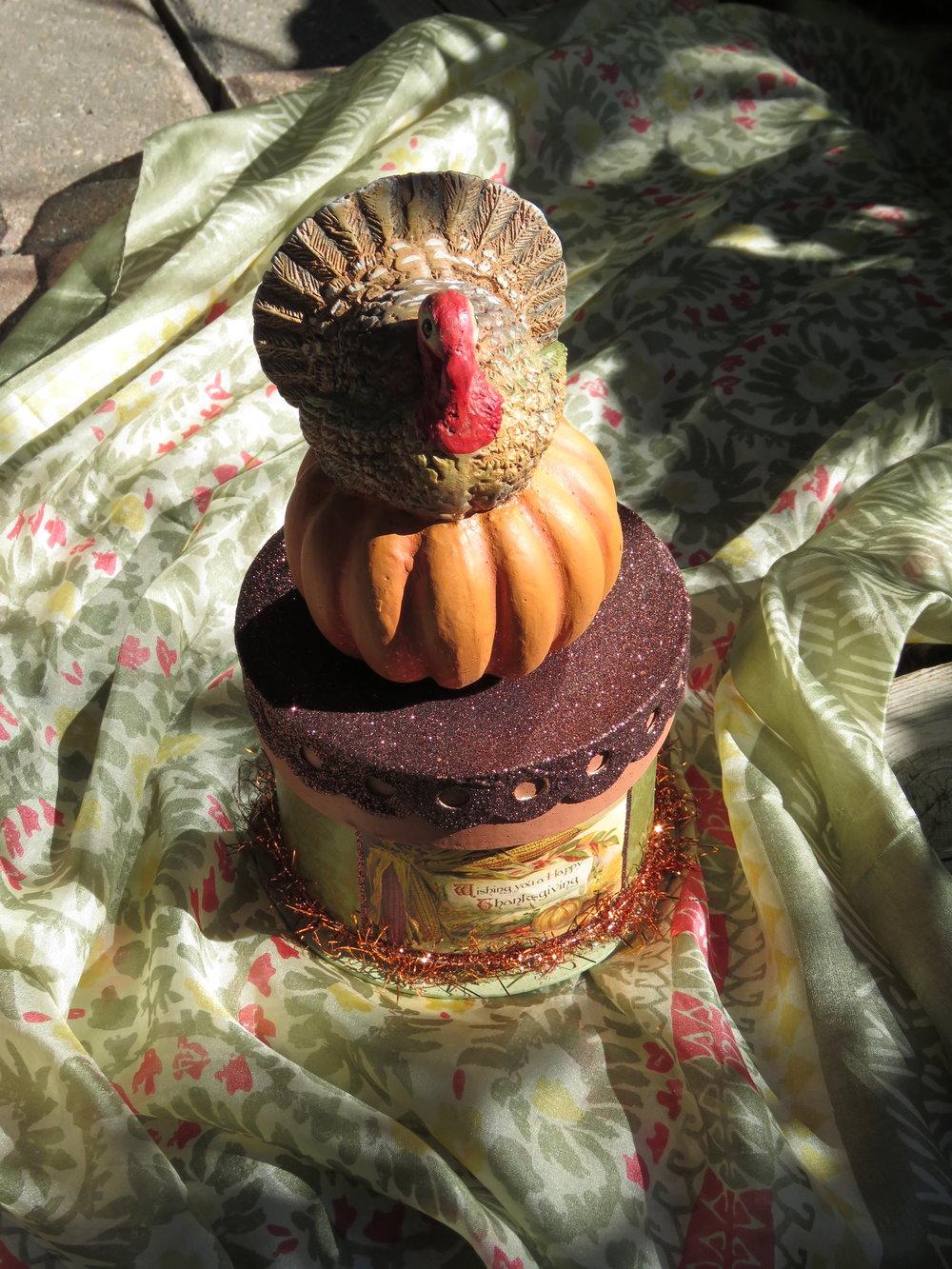 Bethany Lowe Thanksgiving Turkey Box  - $29.95