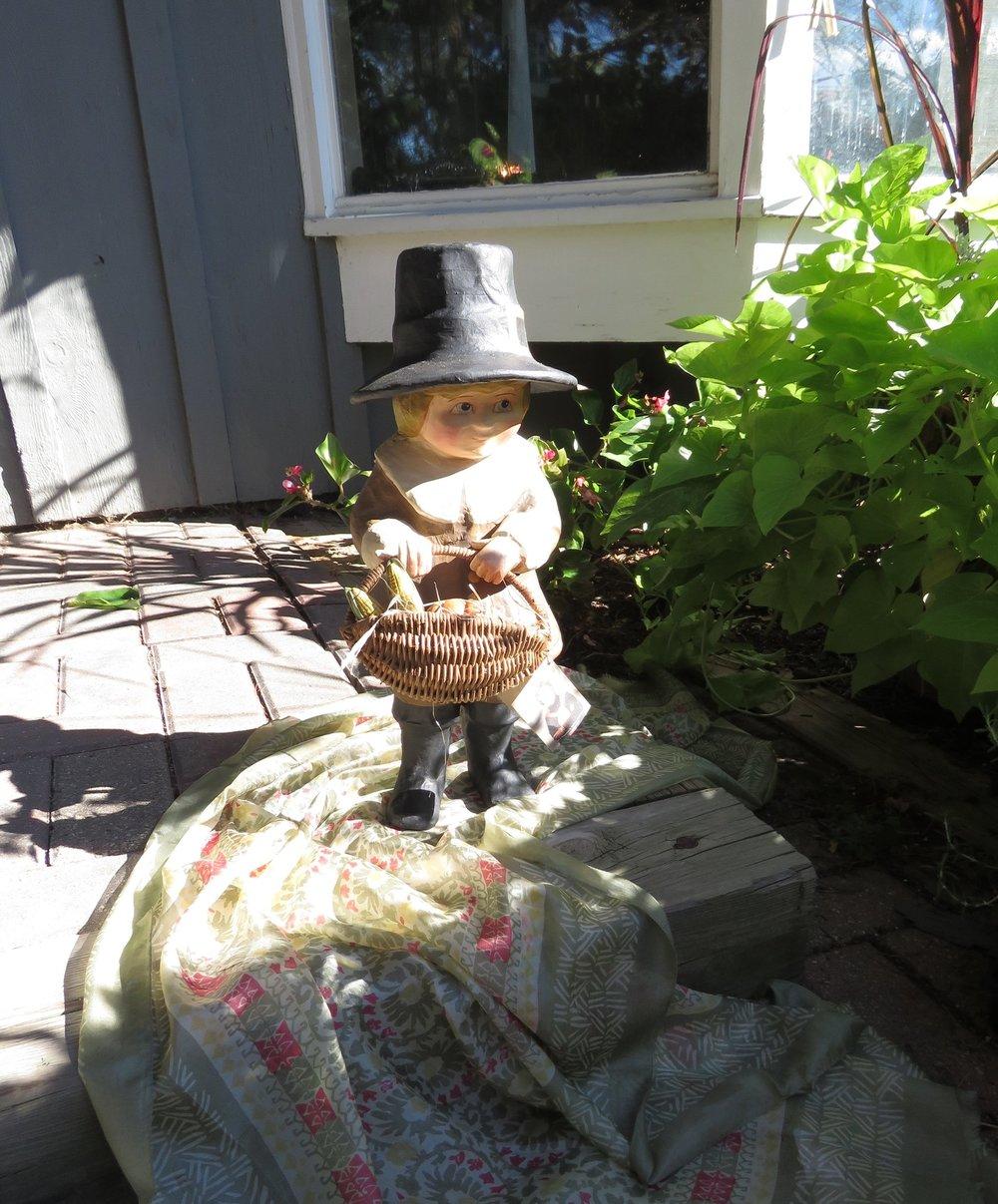 Bethany Lowe Thanksgiving Pilgrim Boy - $114.95