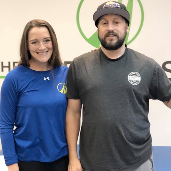 """""""TPS has been far greater than what I even expected, which was initially even a high expectation. The relationships and the networking that I have been able to build and maintain here with the trainers and clients has allowed me to find a home away from home."""" - – Anthony Chavez"""