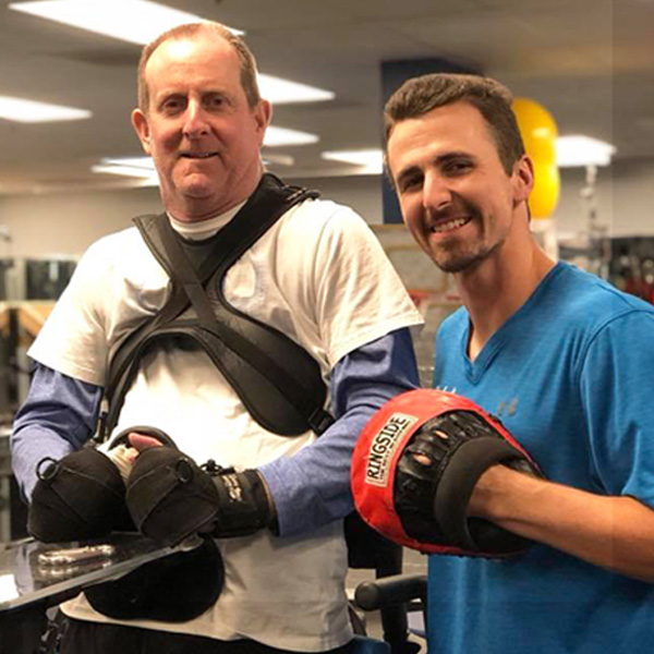 """Without TPS I wouldn't be able to get the extensive workouts that I do. The knowledge and skill set that the staff has, and the specialized equipment allows me to get treatment that I would not be able to find elsewhere."" - — Steve Campbell"